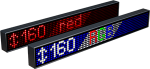 Электронное табло «Бегущая строка», модель Alpha 160 RGB (3880x200x120 мм)