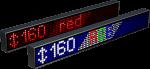 Электронное табло «Бегущая строка», модель Alpha 160 R (1960x200x120 мм)